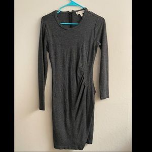 Micheal by Micheal Kors grey fitted dress size L